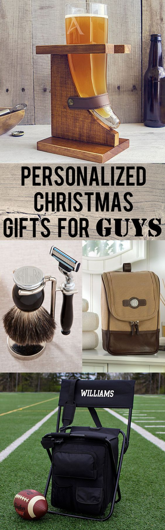 Personalized gift ideas for your husband, dad, boyfriend, brother and men in general that are unique, functional and unforgettable. From engraved Viking beer horns to personalized safety razor and bristle brush shaving sets, these gifts are sure to surprise and to please. These gifts can be ordered at https://myweddingreceptionideas.com/personalized_holiday_gifts_for_guys.asp
