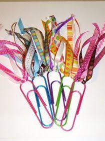 My Teaching Spirit: A Crafty Bookmark Idea...