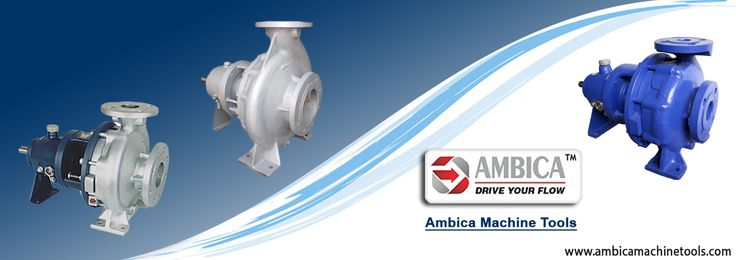 A #centrifugal_pump works on the principal of centrifugal force, which are usually quick to install and easy to repair. To Get quality pumps contact the Ambica Machine Tools which is a leading manufacturer in India.