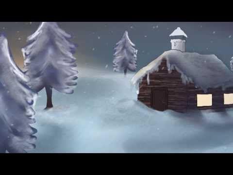 Zehn kleine Tannenbäume - Fast-Weihnachtsgedicht von Bernd Gast - Illustriert von Kristina Kanders - YouTube