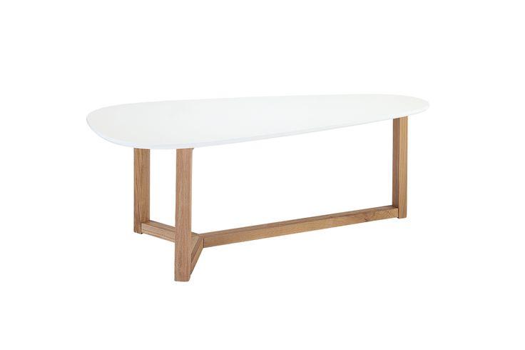 Stół VALE 120 Blat Biały