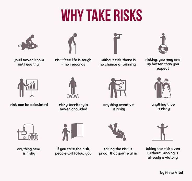 Why take risks? from Funders and Founders