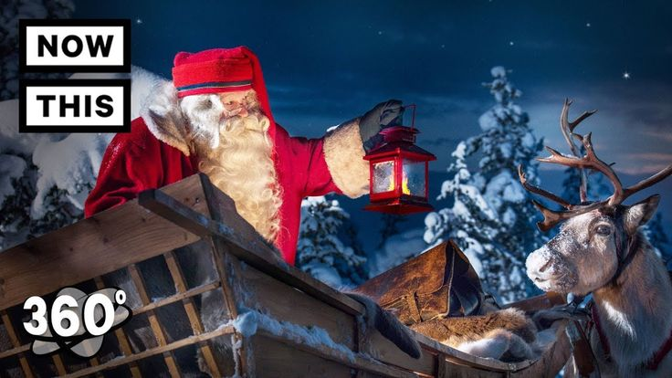 Visit Santa's Village at the North Pole in Finland | Unframed by Gear 360 One of the best places to feel the holiday spirit is Rovaniemi, Finland, home to Santa Village. Santa's residence sits right on the Arctic Circle, and has received over 18 million letters from 199 countries. Experience this holiday wonderland unframed by Samsung #Gear360. » Subscribe to NowThis: http://go.nowth.is/News_Subscribe