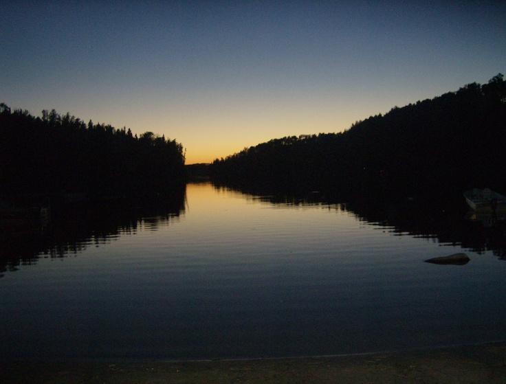 Sunset in kenora (Grandparents cabin)