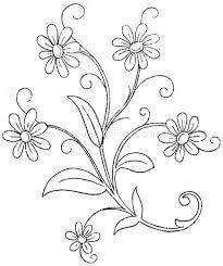Resultado de imagen para ramos de flores grandes para colorear