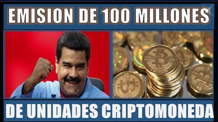 ANUNCIAN EMISIÓN de 100 MILLONES de UNIDADES CRIPTOMONEDA||NOTICIAS AL DÍA VENEZUELA 09 ENERO 2018