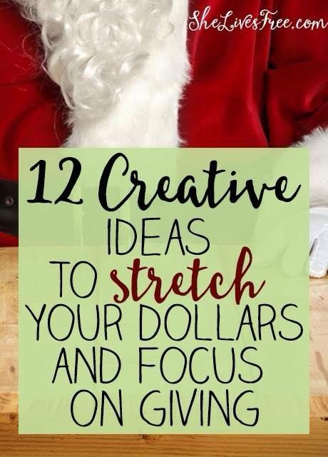 12 Creative DIY Ideas to Stretch Your Dollars and Focus on the Joy of Giving!