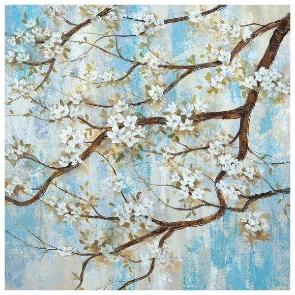 Spring In Bloom Canvas Wall Art (345 RON) ❤ liked on Polyvore featuring home, home decor, wall art, multicolor, contemporary wall art, colorful canvas wall art, contemporary canvas wall art, contemporary home decor and vertical canvas wall art