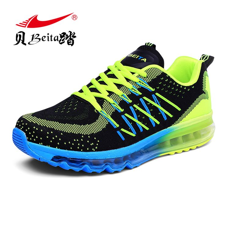 Brand BEITA The New 2016 Light Sports Shoes Man Trainers Sport Shoes Lncrease Mens Sport Sneakers Air Cushion Running Shoe