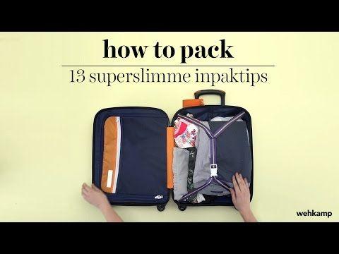 Hoe pak ik mijn koffer ruimtebesparend in? - Haute Couleur