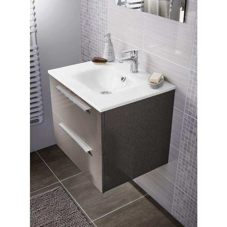 17 meilleures images propos de deco salle de bain sur - Cube de verre salle de bain ...
