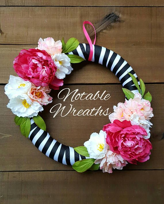 Check out this item in my Etsy shop https://www.etsy.com/listing/508471744/spring-wreath-summer-wreath-modern