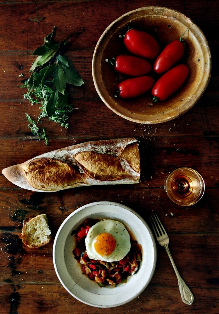 A true 'home-cooked' meal, to be eaten in the best traditional way, with a golden fried egg on top.