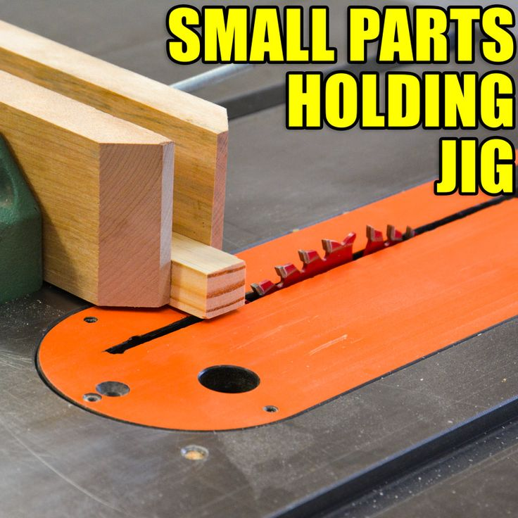 Small Parts Holding Jig for the Table Saw! #woodworkingprojects #woodworking