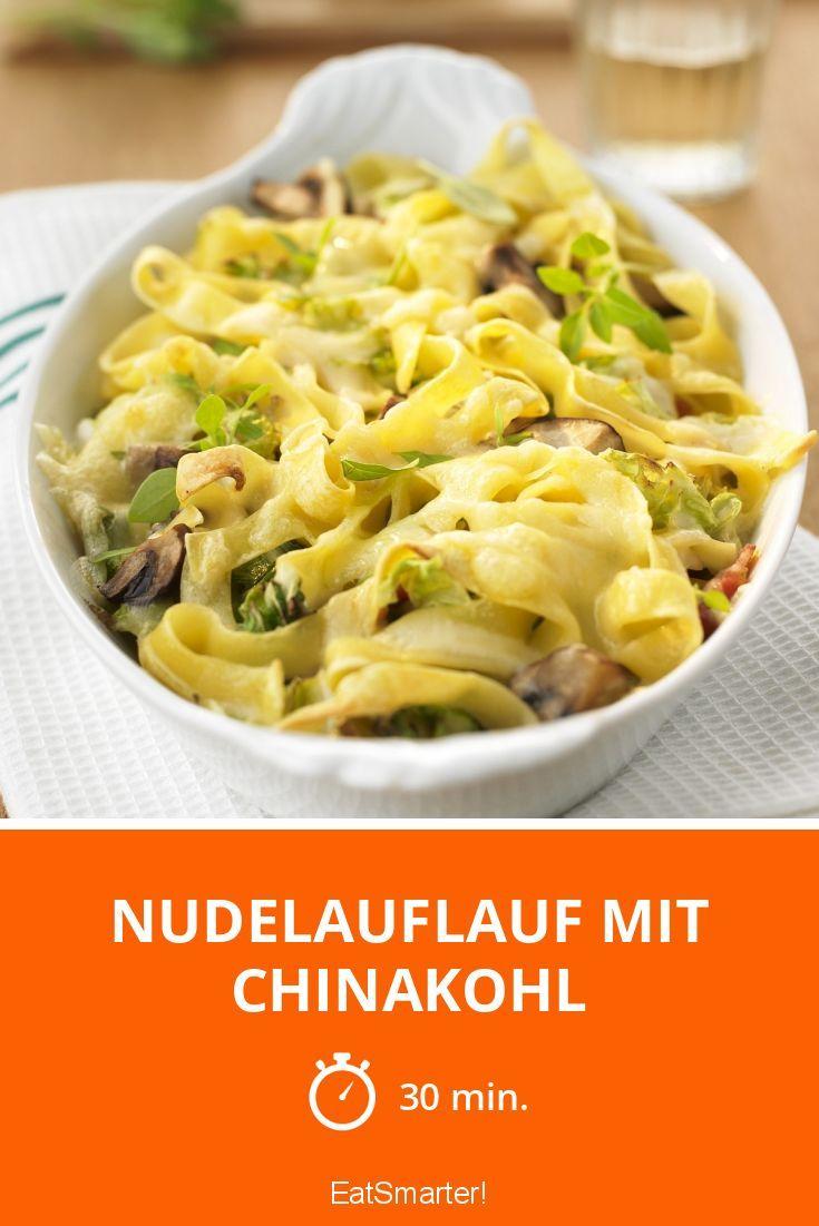 Nudelauflauf mit Chinakohl - smarter - Zeit: 30 Min. | eatsmarter.de