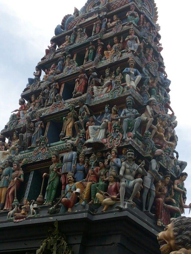Hindus temple @ Chinatown ,Singapore