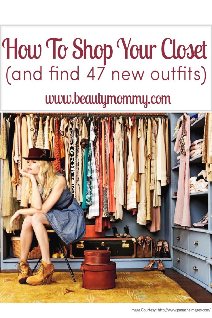 How to Shop Your Closet (and find 47 new outfits). A guest post from the lovely Caitlin Skidmore of Great Than Rubies! http://greaterthanrubies.net http://beautymommy.com/