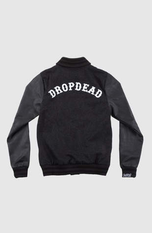 Varsity Jacket from Drop Dead Clothing #DDXMASWISHLIST
