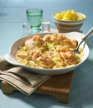 Schwedisches Lachsgratin Rezept - Chefkoch-Rezepte auf LECKER.de | Kochen, Backen und schnelle Gerichte