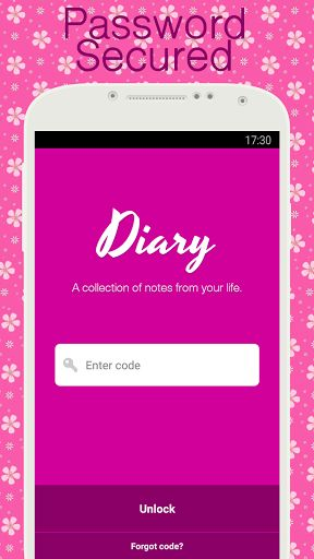 Diary with lock v4.80b [Premium]   Diary with lock v4.80b [Premium] Requirements:4.0.3 Overview:Use this diary app tomake your ownpersonal journal of daily events appointments secrets and feelings.  Use this diary app tomake your ownpersonal journal of daily events appointments secrets and feelings.  FEATURES:  Password & pin code protection  Emojis via Quick access keyboard (requires Android 4.1 or higher)  Personalize background color (Pink Purple Blue )  Change text-size and font-style…