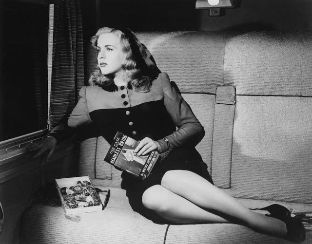 Deanna Durbin - LADY ON A TRAIN (1945): A LESLIE CHARTERIS PREMISE WITH A LUCILLE BALL TWIST