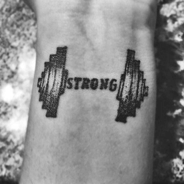 1000 ideas about strong tattoos on pinterest stay for Weightlifting tattoo designs