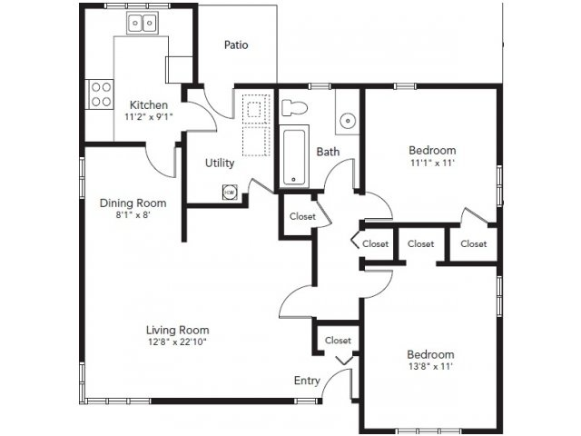 Nas whidbey island maylor point neighborhood 2 bedroom for Whidbey house plan