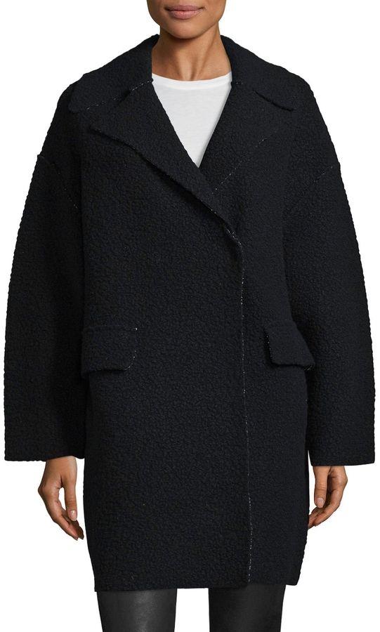 M Missoni Women's Notch Wool Overcoat