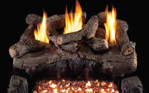 Gas Logs Real Fyre Vent Free Gas Logs 30 Real Fyre