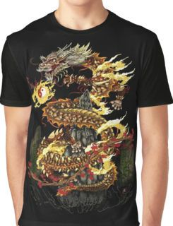 Fire Dragon Lord Graphic T-Shirt