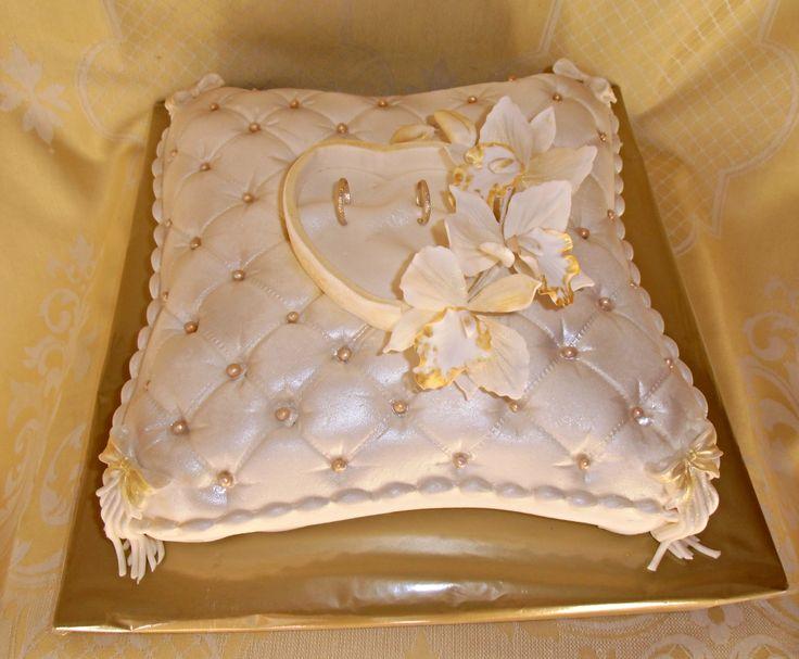 torta svadobný vankúš