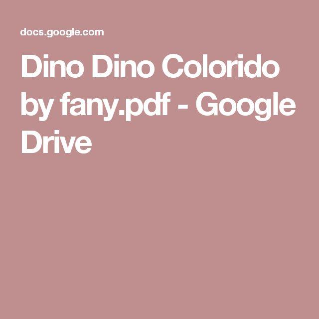 Dino Dino Colorido by fany.pdf - Google Drive