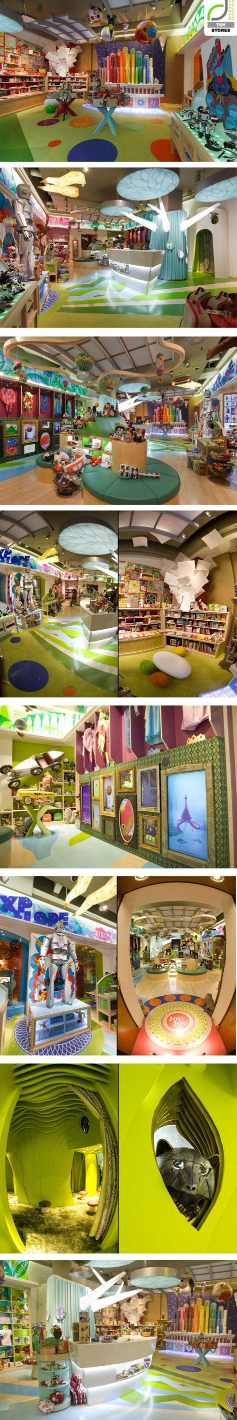 Jou Jou toy store by Watts Architects, Salt Lake City – Utah....