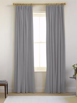 Natural curtain co Merlin ready made pencil pleat extra large x 137cm - £94