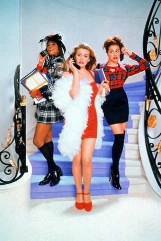 The famous shot of #Cher , #Dionne and #Tai ************************* Picture credit: Rex Features ~~~~~~~~~~~~~~~~~~~~~~ Clueless The Musical Amy Heckerling Broadway (Vogue.co.uk)
