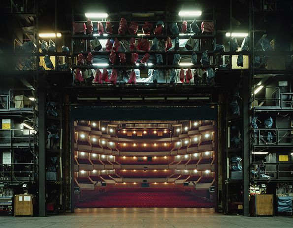 It's Nice That : Klaus Frahm's incredible photographs capture the unseen side of theatres