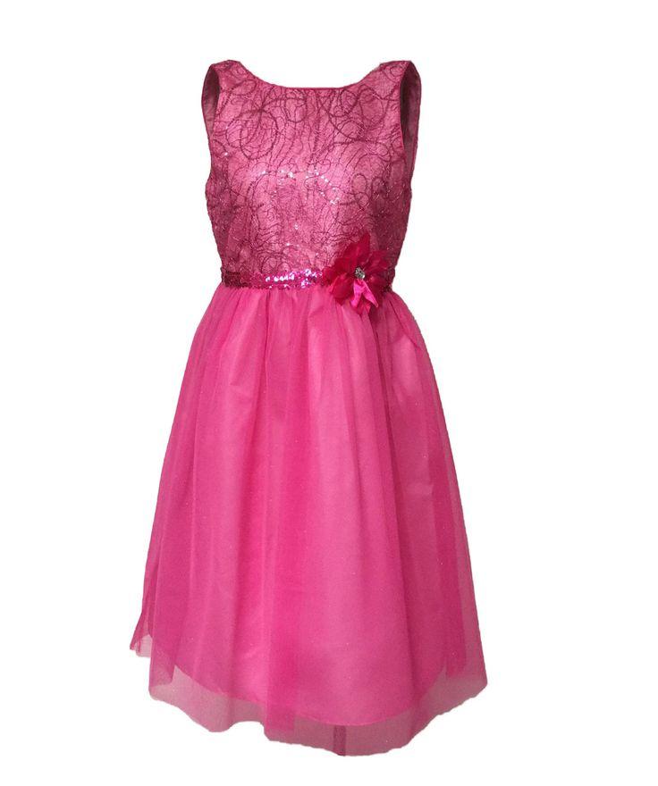 Emily West Pink Metallic Swirls Special Occasion Tulle Girls Dress #EmilyWest #fashion  #girl #flowergirl  #dress #EmilyWest #fashion #girlsdress  #pink  #flowergirldress  #pinkdress #pageantdress #formal #kids #kidfashion #teenfashion #junior #quinceañera