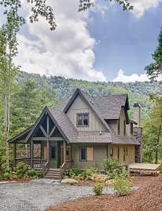 Mountain cottage home plans