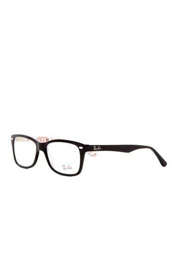If I ever needed to wear glasses, I would pick this frame. Cute Ray Bans.