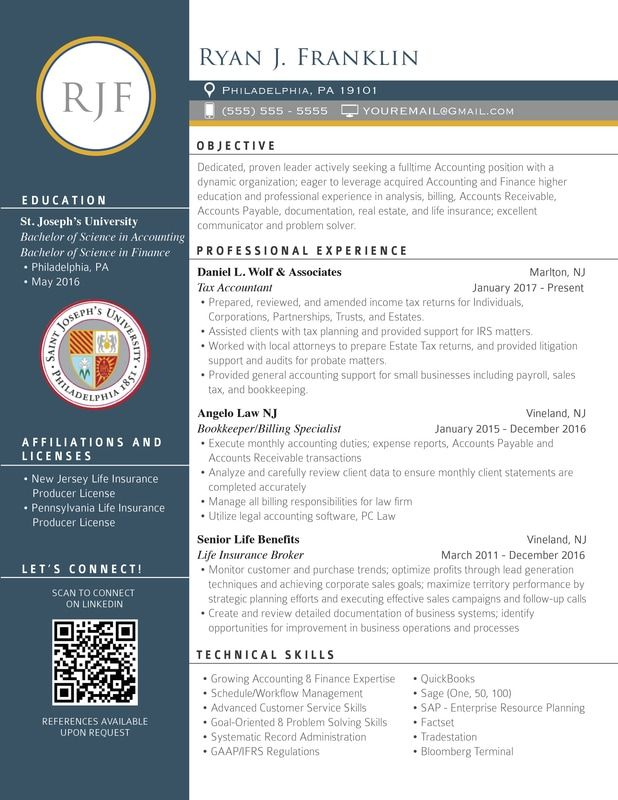 Picture Resume Resume Templates Finance Education