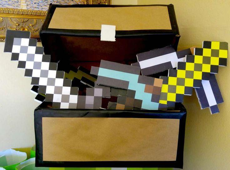 Minecraft Birthday Party Ideas | Photo 1 of 10 | Catch My Party