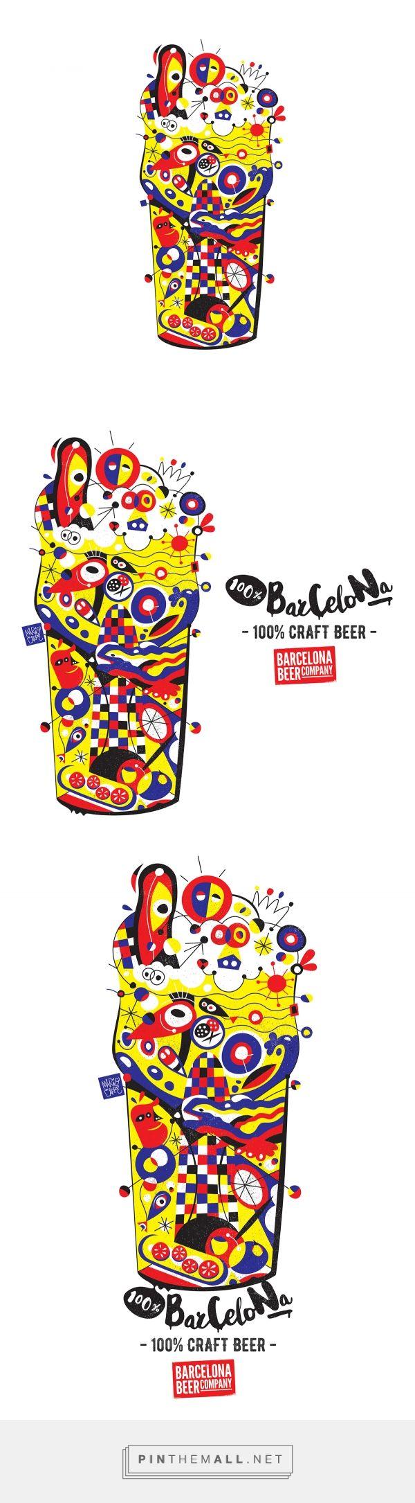 Barcelona Beer Company on Behance - created via https://pinthemall.net
