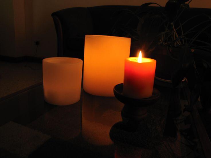 Calidez en tu hogar  con nuestras velas lampara.