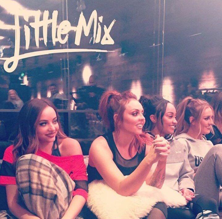"""littlemixqueenews: """"Little Mix today (29/11/16) """""""