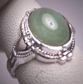 Antique Jade Wedding Ring Heart Motif Vintage Art Deco 1920 Estate by AawsombleiJewelry on Etsy https://www.etsy.com/listing/251128324/antique-jade-wedding-ring-heart-motif