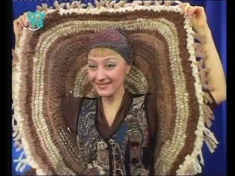 Создаем ткань из мелких текстильных отходов и шьем из нее шляпки и сумки. Мастер класс - YouTube