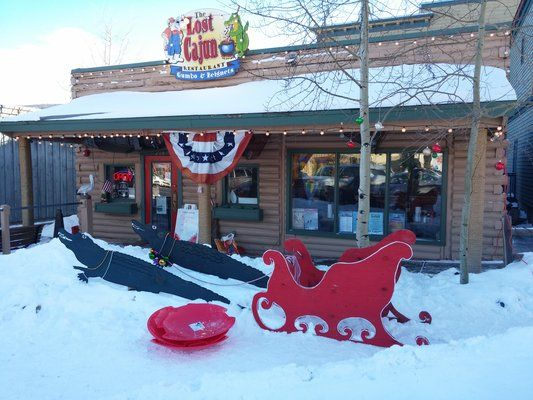 The Lost Cajun Delicious Fare In Rocky Mountains Frisco Co
