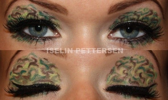 Bareiselin Camouflage Makeup Look 2 Goin Commando
