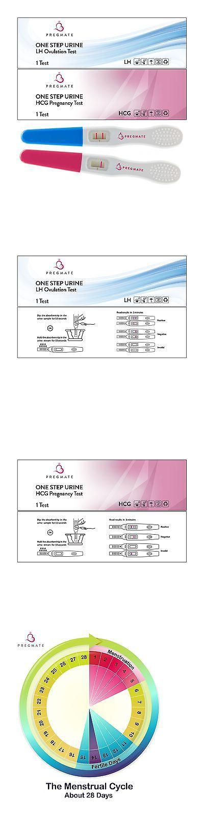 Fertility Monitors and OPKs: Pregmate 20 Ovulation (Lh) Plus 5 Pregnancy (Hcg) Midstream Tests Sticks Stri... -> BUY IT NOW ONLY: $33.89 on eBay!