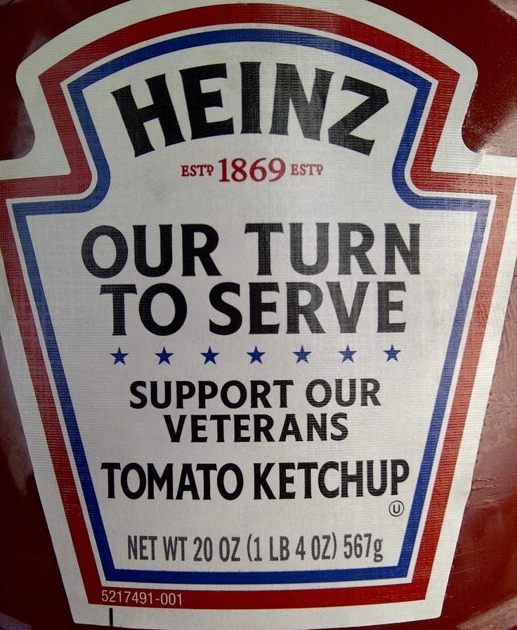Heinz philanthropic packaging